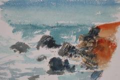 Rocks and Waves - Gulf of Corinth