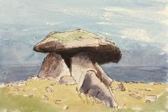 Cliff edge Quoite - Cornwall